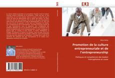 Bookcover of Promotion de la culture entrepreneuriale et de l'entrepreneurship