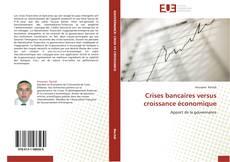 Capa do livro de Crises bancaires versus croissance économique