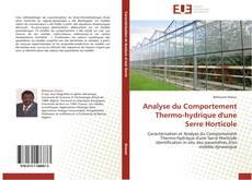 Portada del libro de Analyse du Comportement Thermo-hydrique d'une Serre Horticole