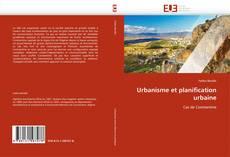 Обложка Urbanisme et planification urbaine