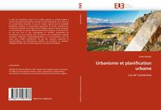 Buchcover von Urbanisme et planification urbaine