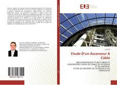 Bookcover of Etude D'un Ascenseur A Câble
