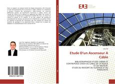 Capa do livro de Etude D'un Ascenseur A Câble