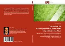 Capa do livro de Croissance de Chlamydomonas reinhardtii en photobioréacteur