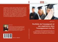 Portada del libro de Portfolio de l'enseignant et son expérience dans l'enseignement du FLE