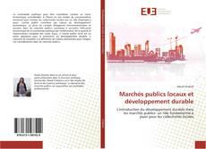 Capa do livro de Marchés publics locaux et développement durable