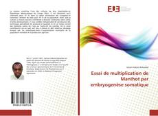 Bookcover of Essai de multiplication de Manihot par embryogenèse somatique