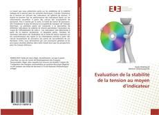 Copertina di Evaluation de la stabilité de la tension au moyen d'indicateur