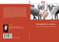 Bookcover of Homophobie et sexisme
