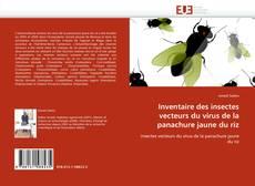 Portada del libro de Inventaire des insectes vecteurs du virus de la panachure jaune du riz