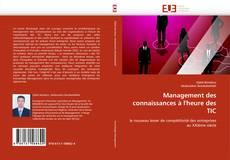 Couverture de Management des connaissances à l'heure des TIC