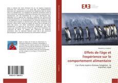 Buchcover von Effets de l'âge et l'expérience sur le comportement alimentaire