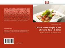 Couverture de Qualité bactériologique des aliments de rue à Dakar