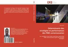 Couverture de Déterminants des stratégies et performances des PME camerounaises