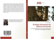 Ecologie alimentaire du Babouin de Guinée kitap kapağı