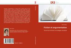 Fiction et argumentation kitap kapağı