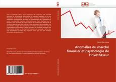 Bookcover of Anomalies du marché financier et psychologie de l'investisseur