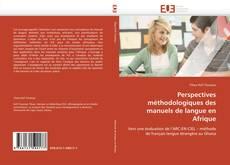Capa do livro de Perspectives méthodologiques des manuels de langue en Afrique