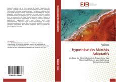 Bookcover of Hypothèse des Marchés Adaptatifs