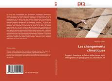 Capa do livro de Les changements climatiques