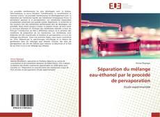 Portada del libro de Séparation du mélange eau-éthanol par le procédé de pervaporation