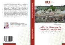 Bookcover of L'effet Du Glissement De Terrain Sur Le Cadre Bati