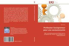 Bookcover of Profession Sociopreneur pour une sociautonomie