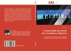 Обложка L'universalité des Droits des Travailleurs Migrants