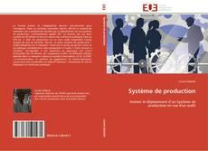 Buchcover von Système de production