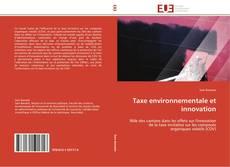 Taxe environnementale et innovation的封面