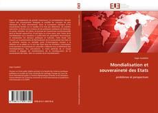 Copertina di Mondialisation et souveraineté des Etats