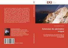 Обложка Extension du périmètre irrigué