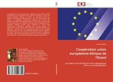 Coopération union européenne-Afrique de l'Ouest kitap kapağı