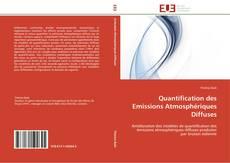 Quantification des Emissions Atmosphériques Diffuses kitap kapağı