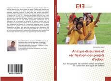 Buchcover von Analyse discursive et vérification des projets d'action