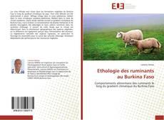Borítókép a  Ethologie des ruminants au Burkina Faso - hoz