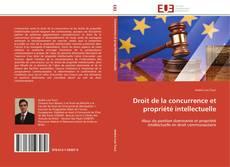 Обложка Droit de la concurrence et propriété intellectuelle