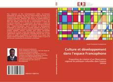 Bookcover of Culture et développement dans l'espace Francophone
