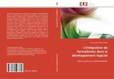 Capa do livro de L'intégration de formalismes dans le développement logiciel