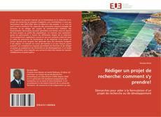 Buchcover von Rédiger un projet de recherche: comment s'y prendre!
