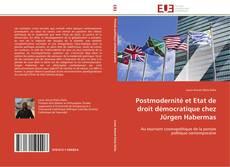 Bookcover of Postmodernité et Etat de droit démocratique chez Jürgen Habermas