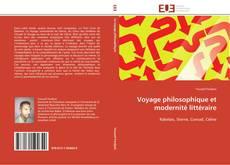 Couverture de Voyage philosophique et modernité littéraire