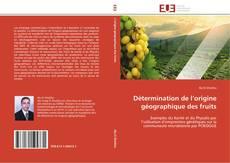 Détermination de l'origine géographique des fruits的封面