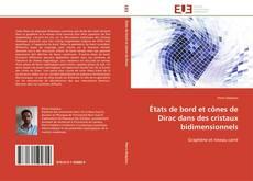 Buchcover von États de bord et cônes de Dirac dans des cristaux bidimensionnels