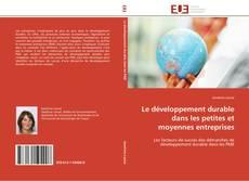 Обложка Le développement durable dans les petites et moyennes entreprises