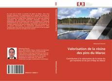 Valorisation de la résine des pins du Maroc kitap kapağı