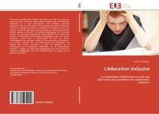 Portada del libro de L'éducation inclusive