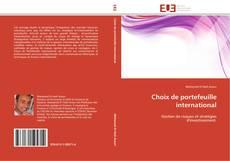 Copertina di Choix de portefeuille international