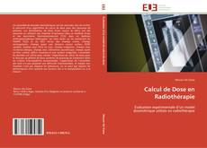 Calcul de Dose en Radiothérapie kitap kapağı