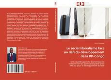 Portada del libro de Le social libéralisme face au défi du développement de la RD-Congo
